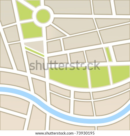Background of city map