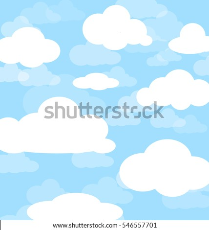 background of cloud and blue sky.