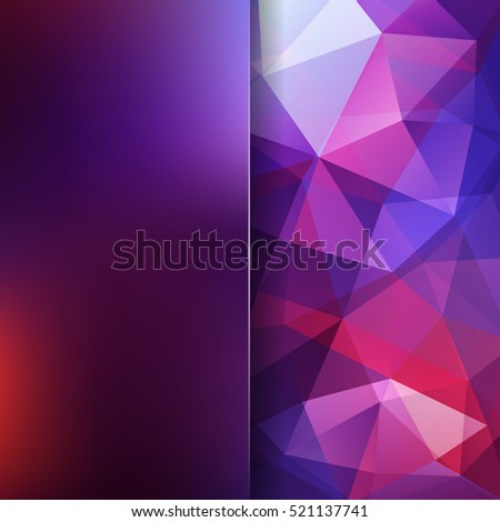 background of geometric shapes