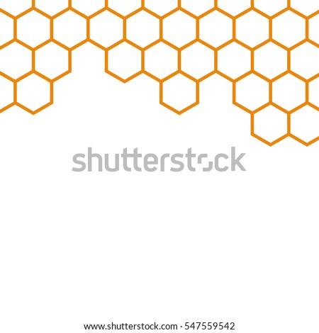 Background of honeycomb.