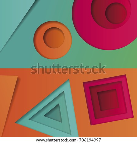background of multicolored