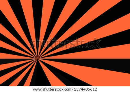 background of orange and black stripes,glowing glows,like light from the sun