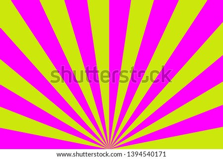 background of pink and yellow stripes,glowing glows,like light from the sun