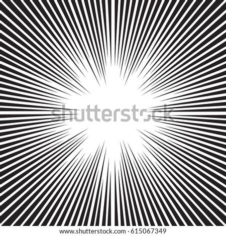 Speed Lines Photoshop Brushes