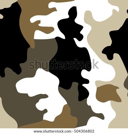background of soldier winter