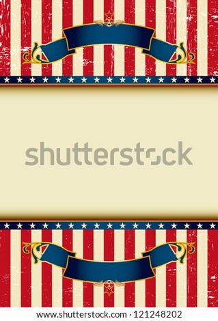 Background of USA. An american background for your advertising.