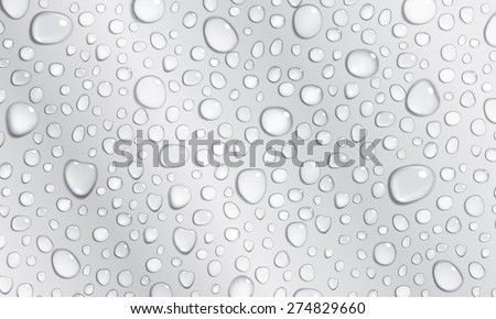 background of water droplets on