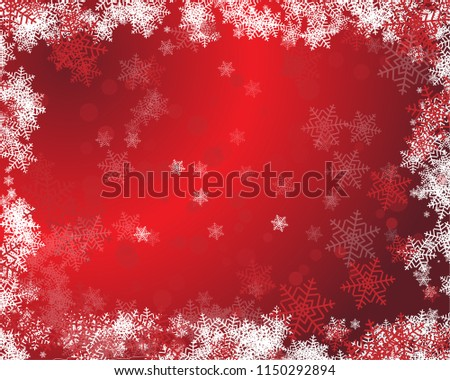 Background on a red and white abstract backdrop with silk fabric. Happy New Year quote. Perfect for social media campaigns.