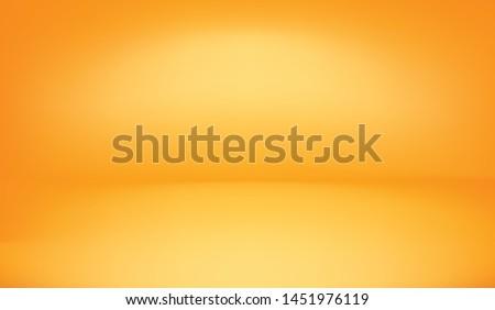 background orange color bright light in the studio, abstract vector 3d orange rendering with minimal orange scene, background minimal halloween background 3d rendering orange pastel. yellow studio 3d