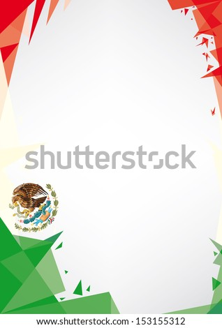 background origami of Mexico a design background Origami style for a very nice poster