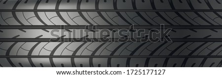 Background panorama car tire protector Foto stock ©