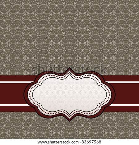 Background pattern -  label