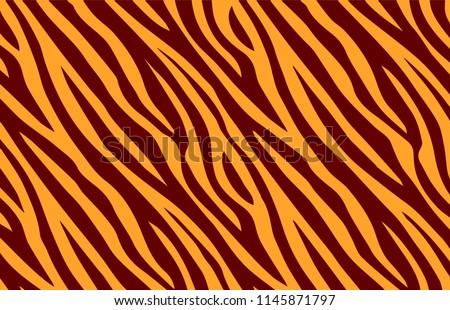 background pattern texture tiger orange stripe brown jungle safari