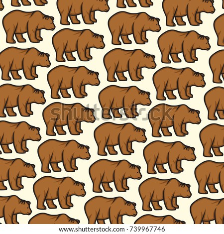 background pattern with wild