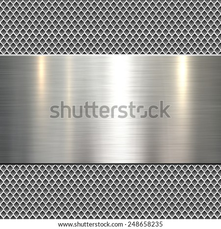 stock-vector-background-polished-metal-texture-vector