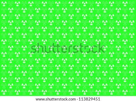 Background radiation - green