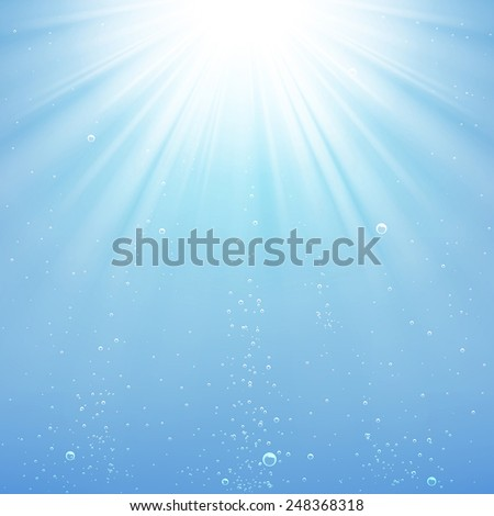 background rays of light under
