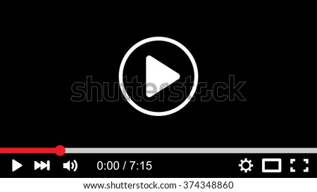 background red button youtube