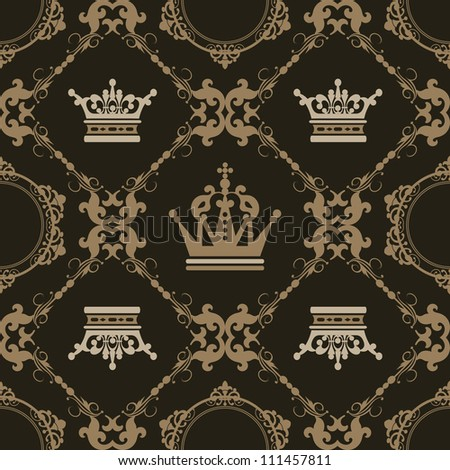 Background retro. Pattern Vector. Vintage. Wallpaper.