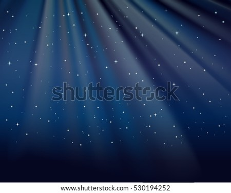 background template with stars