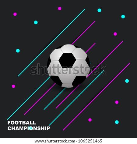 Soccer Tournament Game Poster Flyer Design Background Download