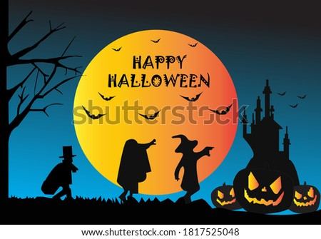 background with a hallowen theme Stock photo ©