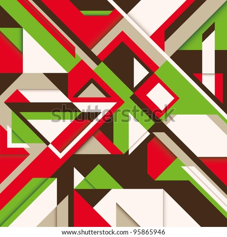Stock Photo Background with abstract composition. Vector illustration.