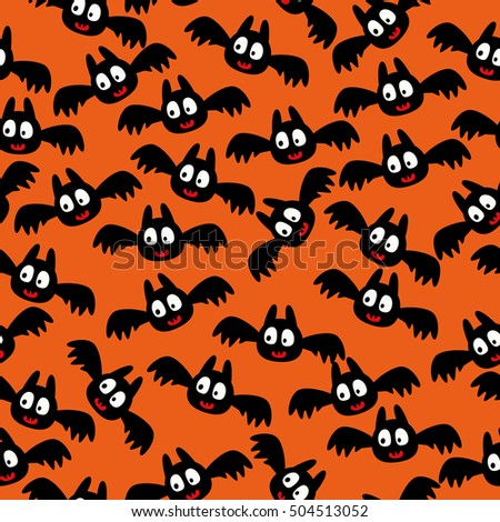 background with bats