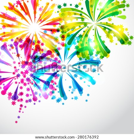 background with bright colorful