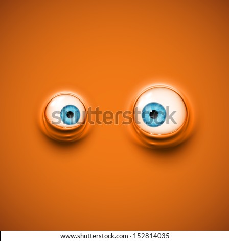 background with cartoon eyes