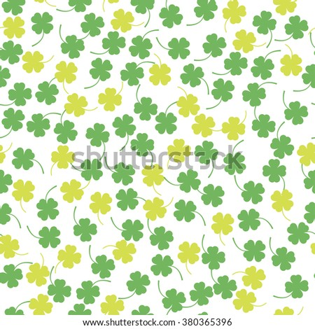 background with clover the