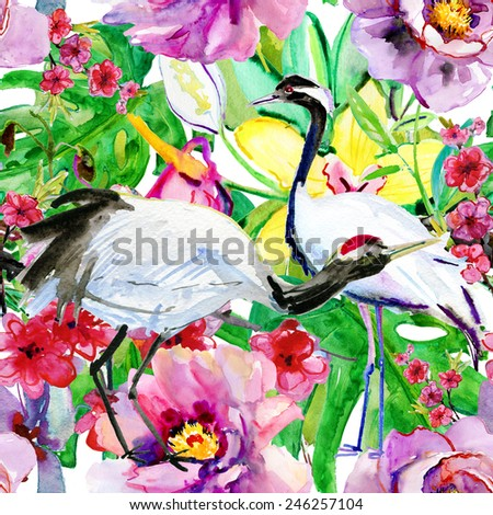background with crane and
