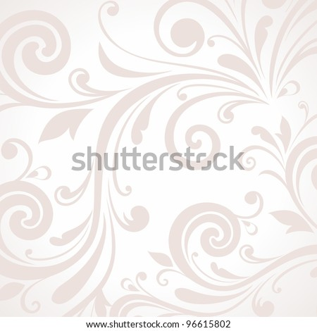 Background with floral pattern