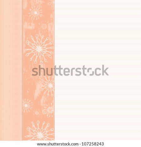 background with flowers- ideal for any sort of celebration