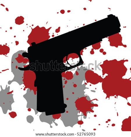 background with gun gun and