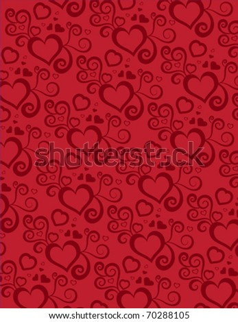 background with heart design