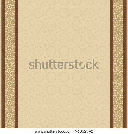 background with lace strip