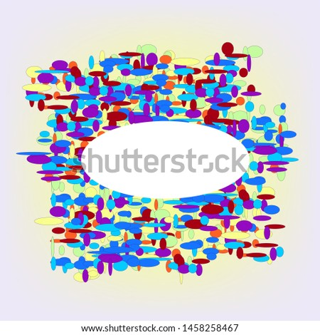 Background with many color elements for design.Color elements in the background design.