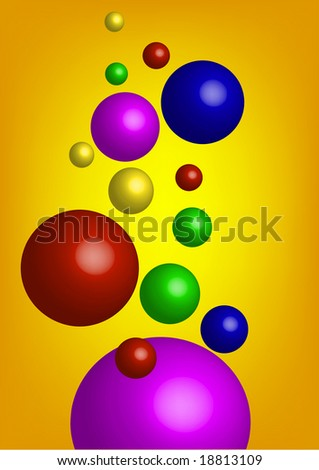 background with multicolor bubbles #18813109