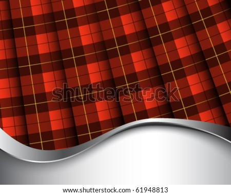 background with pleated wallace