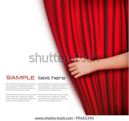 background with red velvet