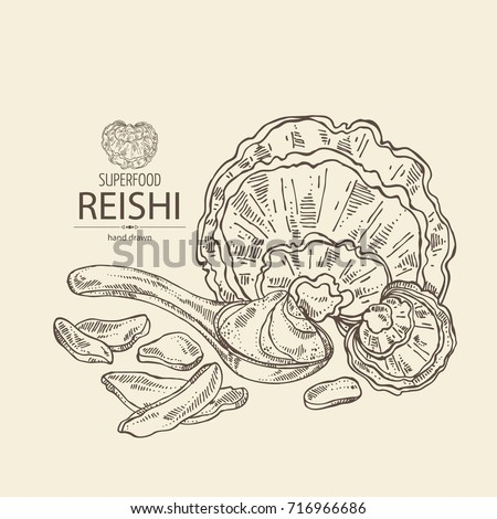 background with reishi