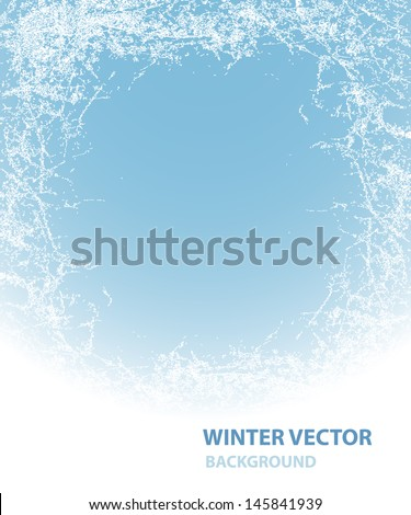 Background  with rime for winter holiday   Stockfoto ©