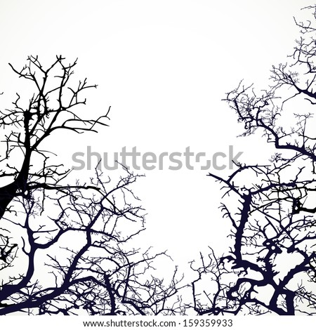 background with silhouettes of
