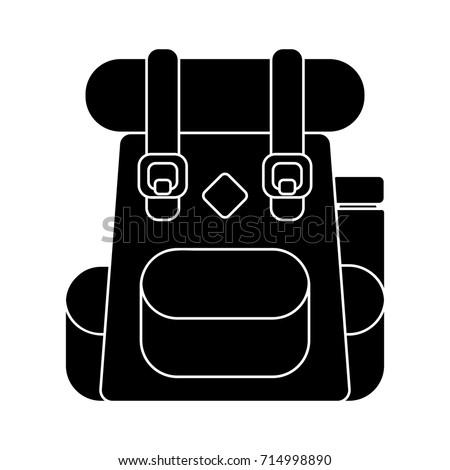 backpack school icon