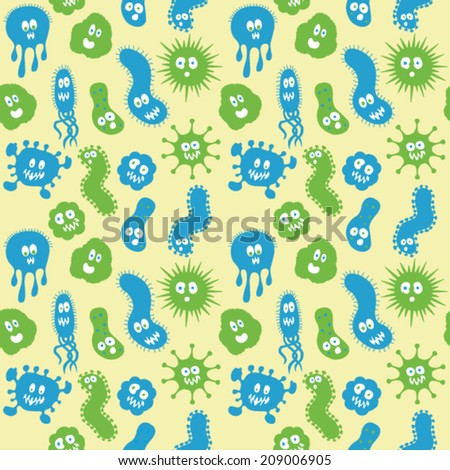 Shutterstock bacteria germs repeat pattern 209006905