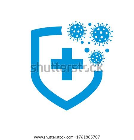 bacteria virus protection logo