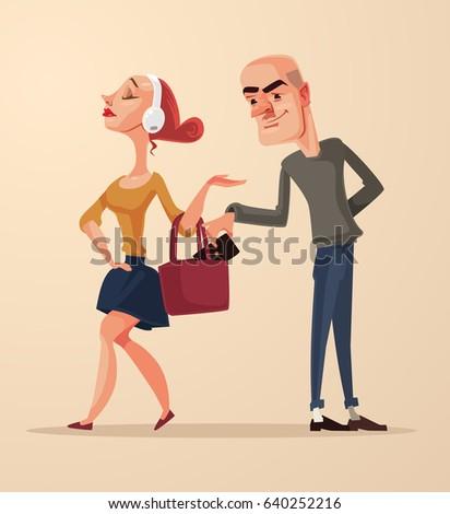 bad pickpocket man character