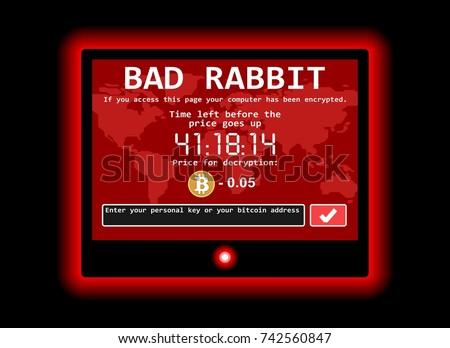 bad rabbit ransomware computer