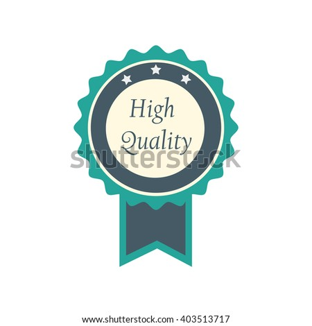 badge high quality with ribbon